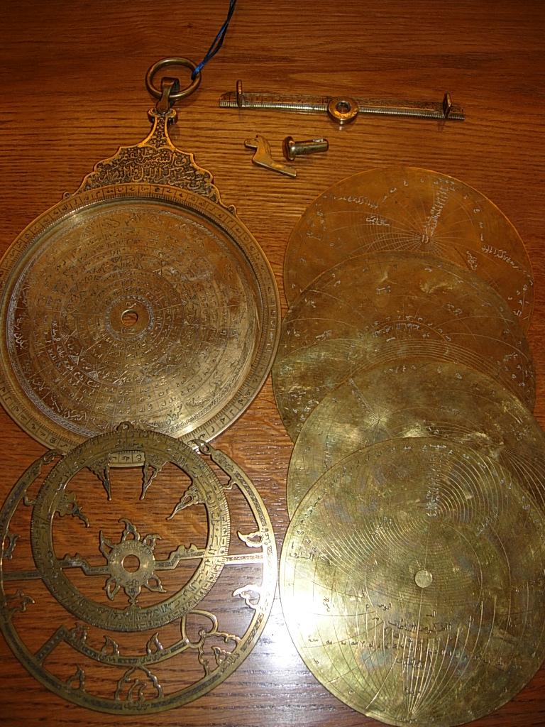 Astrolabio persiano