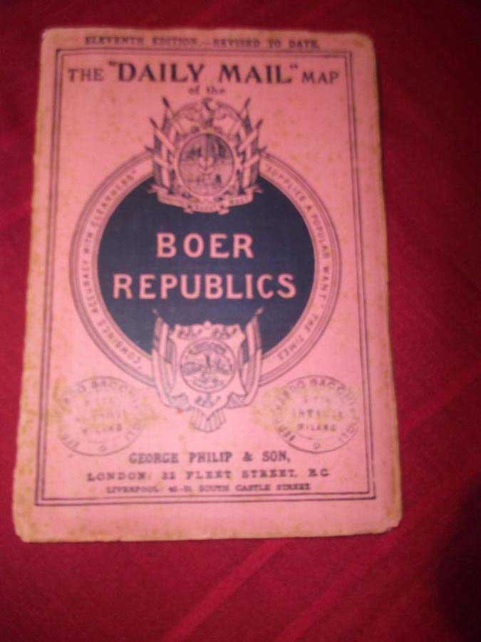 Boer Republics - The Daily Mail Map