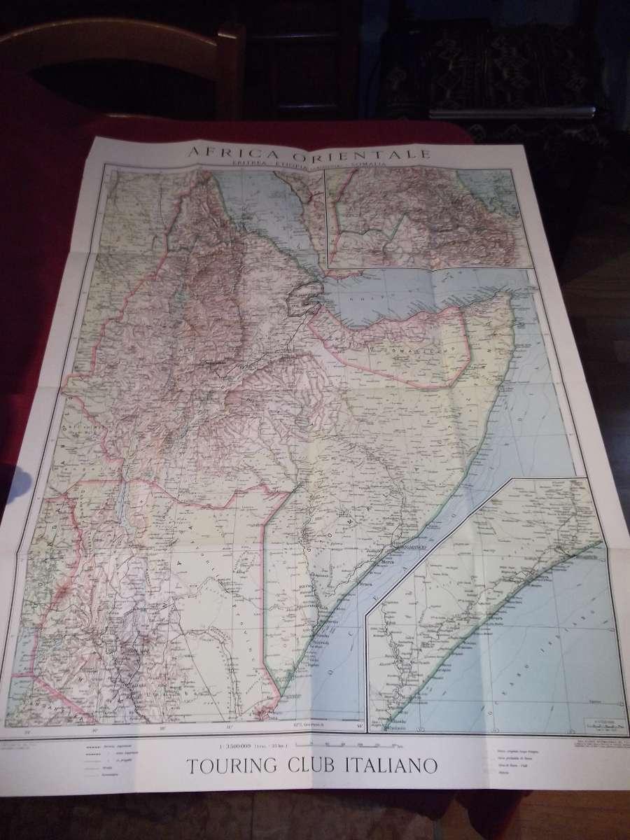 Carta dell'Africa Orientale