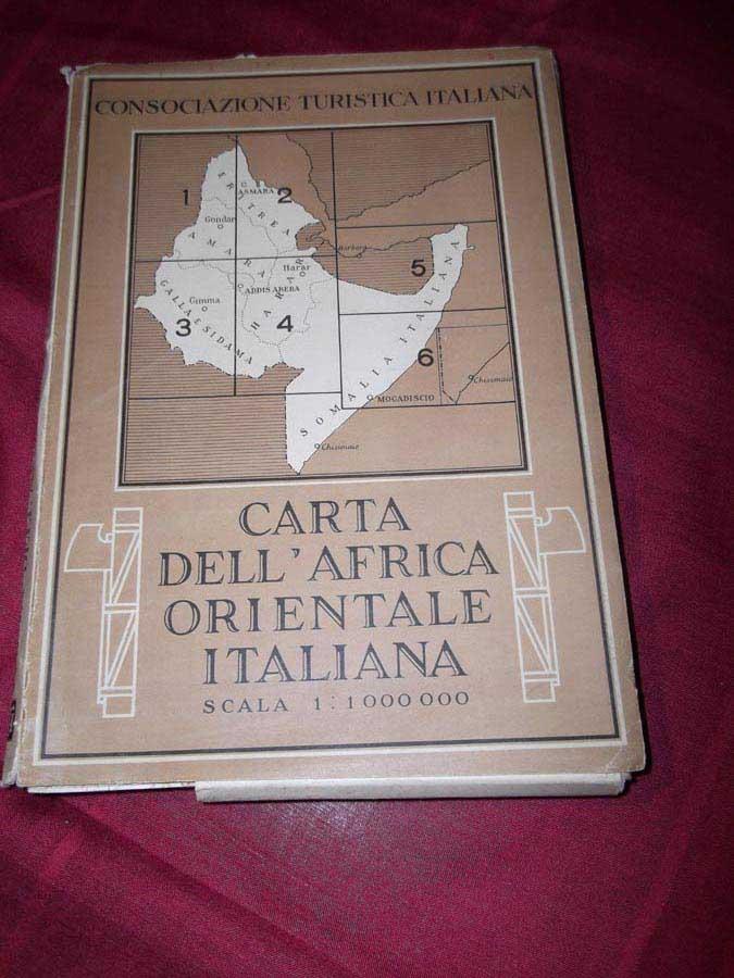 Carta dell'Africa Orientale Italiana