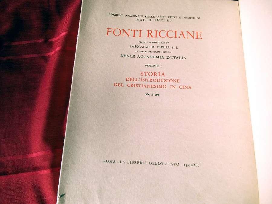 Fonti Ricciane