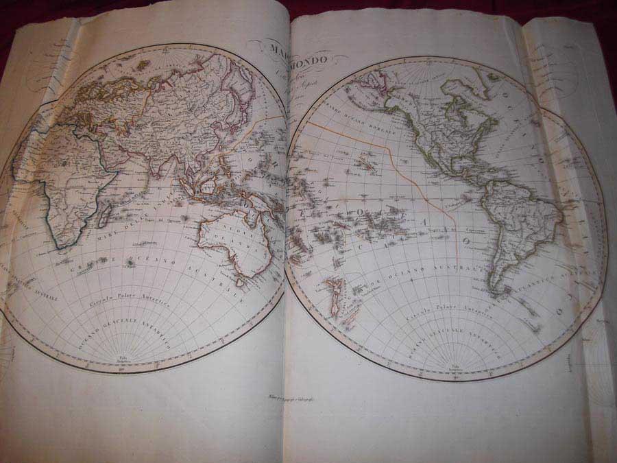 Nuovo Atlante di Geografia Universale - 1820